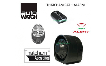 Autowatch 695RLC Thatcham Cat. 2 to 1 alarm system (+£450)