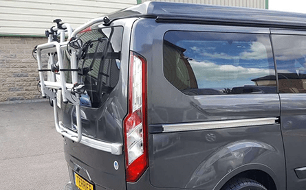 Bike Rack Tailgate Mounted – 3 bikes (+£530)